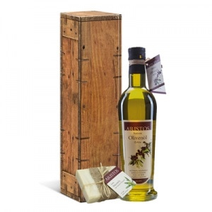 Holzkarton Öl Seife