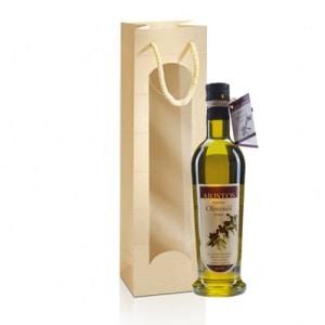 Olivenöl in Geschnenktüte