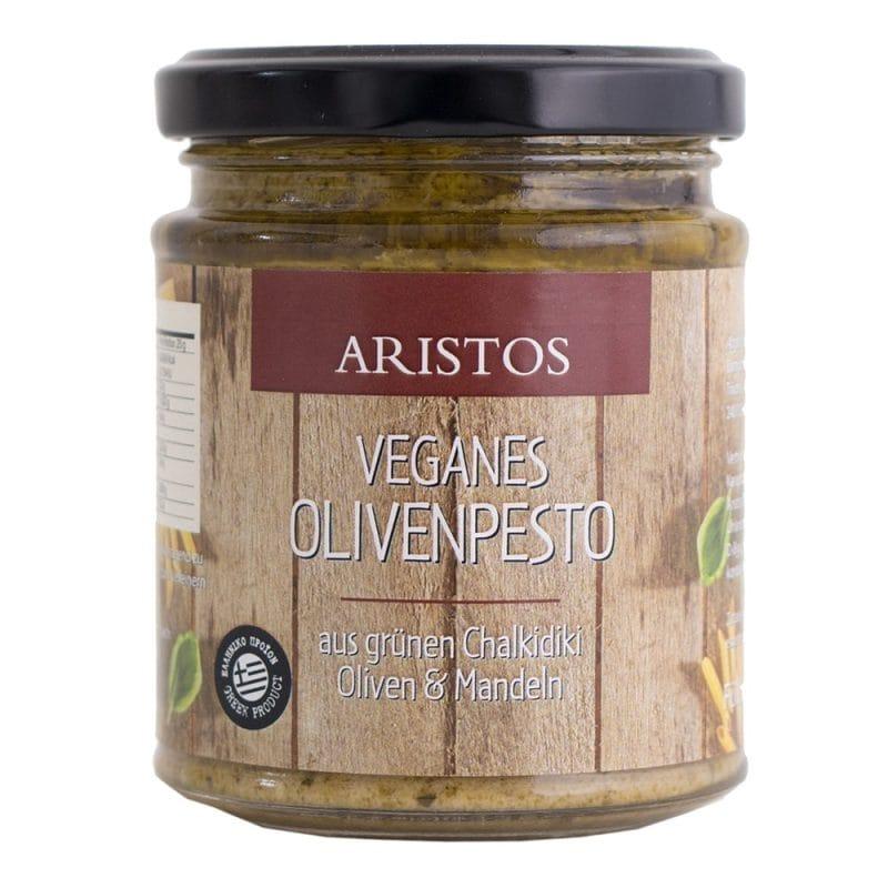 Olivenpesto mit Mandelstückchen