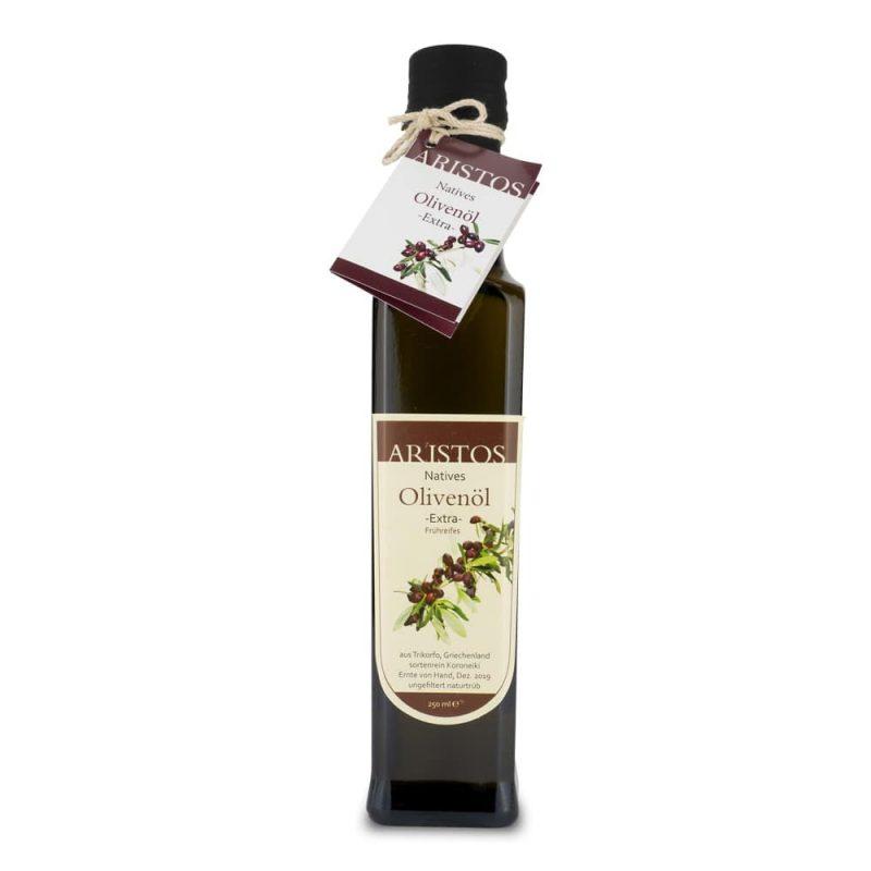 Aristos frühreifes Olivenöl