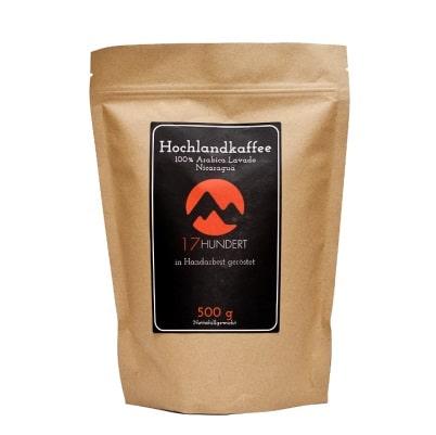 Bio Kaffeebohnen für Espresso