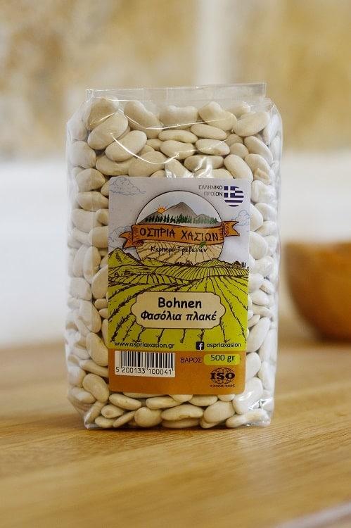 Griechische Bohnen für Bohnensuppe