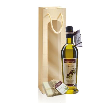 Olivenöl mit Seife