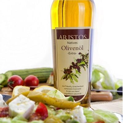Kaltgepresstes Olivenöl Griechenland Aristos