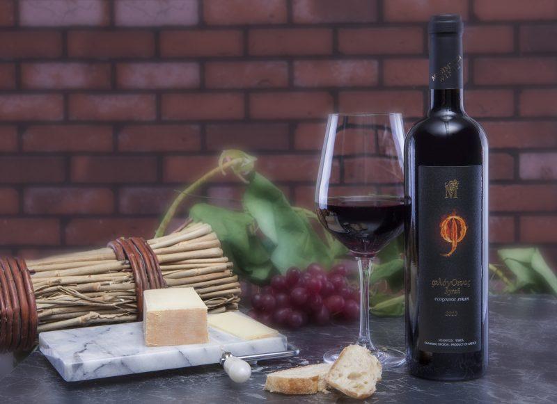 Mesimvria Wines Bio-Rotwein Syrah