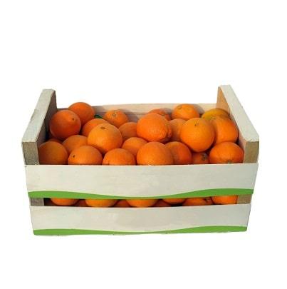 Unbehandelte Orangen griechische-Orangen bio-orangen