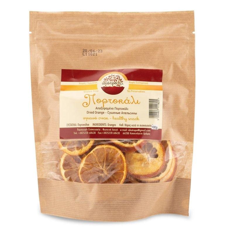 Getrocknete Fruchtscheibe Orange