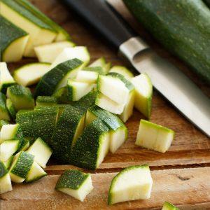 Griechische Bio Zucchini